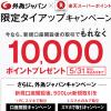外為ジャパン、口座開設とFX取引で10,000楽天ポイント プレゼントキャンペーン実施中【限定キャンペーン】