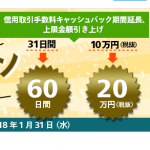 マネックス証券、信用取引の手数料 最大20万円キャッシュバック キャンペーン実施中